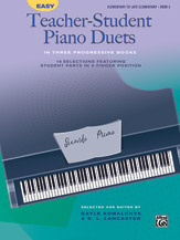 Easy Teacher-Student Piano Duets in Three Progressive Books, Book 2 [Piano]