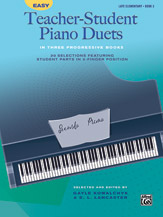 Easy Teacher-Student Piano Duets in Three Progressive Books, Book 3 [Piano]