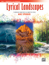 Lyrical Landscapes Bk 3 IMTA-C2 [intermediate piano] Springer