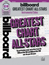 Billboard Greatest Chart All-Stars Instrumental Solos [Clarinet]