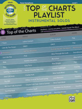 Easy Top of the Charts Playlist Instrumental Solos [Tenor Sax]