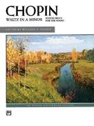 Waltz in A Minor (Posthumous)  Piano Solo