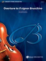 Alfred Rossini              Moss K  Il Signor Bruschino Overture - String Orchestra