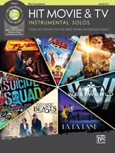 Hit Movie & TV Instrumental Solos w/CD 2-3 Alto Sax