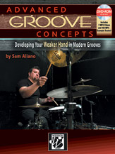 Advanced Groove Concepts w/online audio [drumset]