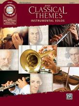 Easy Classical Themes - Alto Sax (Book/CD)