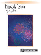 Rhapsody Festivo - 1 Piano 4 Hands