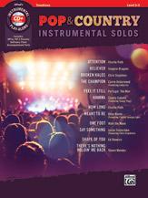 Pop & Country Instrumental Solos w/cd [trombone]