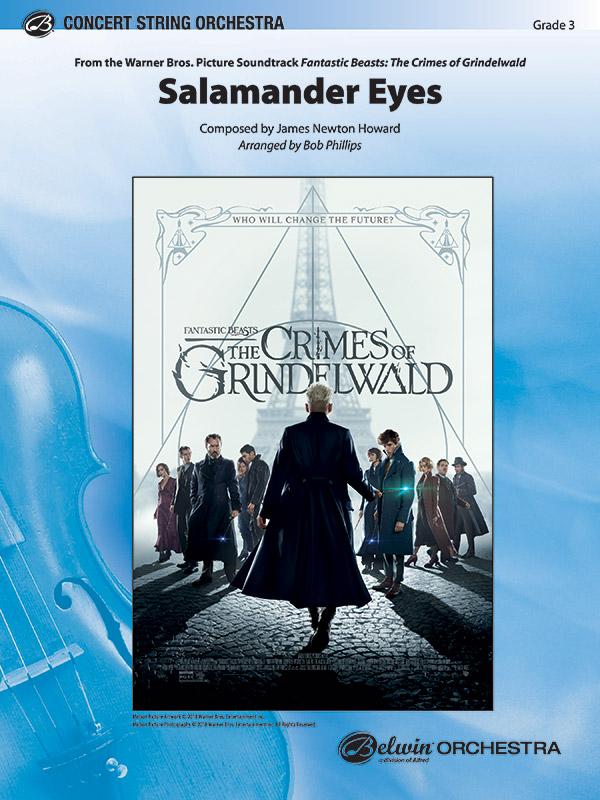 Alfred Howard J             Phillips B  Salamander Eyes (from Crimes of Grindelwald) - String Orchestra