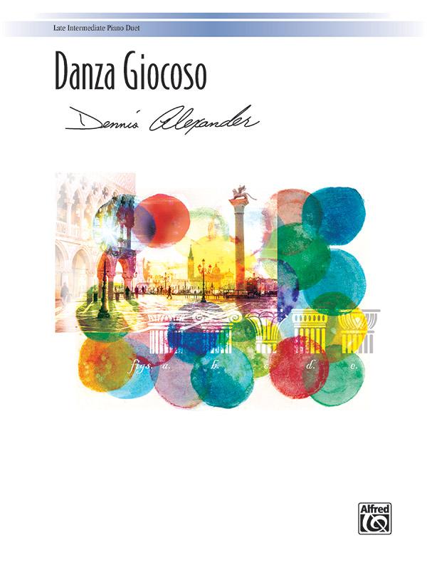 Danza Giocoso - 1 Piano 4 Hands