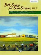 Folk Songs For Solo Singers Vol 1 - Medium High