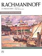 10 Preludes Op 23 IMTA-F/FED-MA1/MA2 [advanced piano] Rachmaninoff