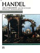 Air & Variations IMTA-E [Piano] Handel - Palmer Edition
