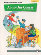 Alfred's Basic All-in-One Course Piano Book 2