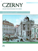 Czerny - Selected Piano Studies, Volume 1 Book