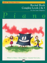 Alfred Basic Recital Complete 2 & 3 [piano]