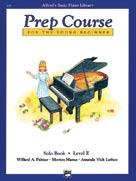Alfred's Prep Course - Solo Book (Level E)
