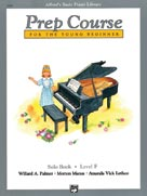 Alfred's Basic Piano Prep Course: Solo Book F [Piano]
