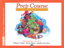Alfred's Basic Piano Prep Course: Christmas Joy! Book A [Piano]