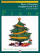 Alfred's Basic Piano Course : Merry Christmas! Complete Book 2 & 3 [Piano]