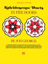 Kaleidoscope Duets Bk 1 FED-PP [1p4h - elementary] George