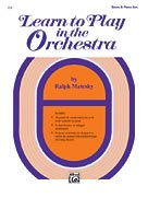 LEARN TO PLAY IN THE ORCHESTRA - BK 1 - STRING ORCHESTRA
