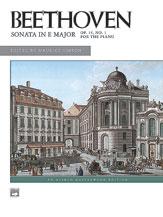 Sonata in E Major, Opus 14, No. 1 [Piano]