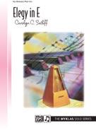 Elegy In E IMTA-B [piano] Setliff (LE)
