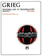 Wedding Day at Troldhaugen, Op. 65, No. 6 - Piano