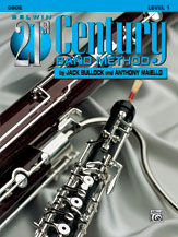 Belwin 21st Century Band Method - Oboe, Level 1