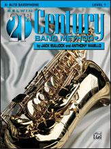 Belwin 21st Century Band Method - Alto Saxophone, Level 1
