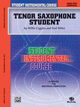 SIC Tenor Saxophone Student, Level 2