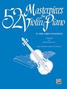 52 Masterpieces for Violin & Piano [Piano Acc.]