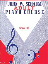 Schaum Adult Piano Course Book 3