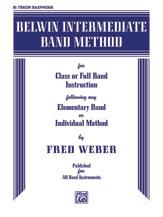 Belwin Intermediate Band Method [B-Flat Tenor Saxophone]