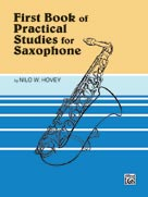 Practical Studies for Saxophone Book I