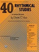 40 Rhythmical Studies  Alto Sax