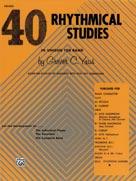 40 Rhythmical Studies Drums