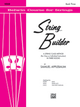 String Builder Book III Violin