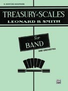 Treasury of Scales for Band and Orchestra [B-Flat Tenor Saxophone]