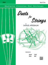 Duets for Strings, Book I [Violin]