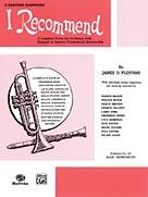 I Recommend Baritone Saxophone