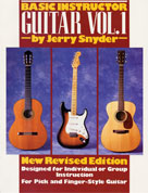 Basic Instructor Guitar, Vol. 1