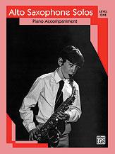 Alto Saxophone Solos, Level 1 - Piano Accompaniment