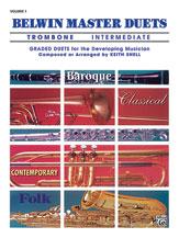 Belwin Master Duets for Trombone, Intermediate Volume 1
