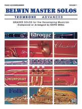 Belwin Master Solos, Volume 1 (Trombone) [Piano Acc.] YA