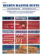 Belwin Master Duets for Saxophone, Intermediate Volume 2