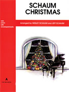 Schaum Christmas Level A: Red Book - Piano