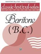Classic Festival Solos (Baritone B.C.), Volume 1 Piano Acc. [Piano Acc.]