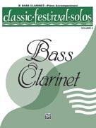 Classic Festival Solos (B-flat Bass Clarinet), Volume 2 Piano Acc. [Piano Acc.]